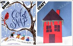 25 winter book and craft pairs for preschoolers and early readers