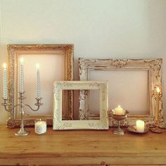 My Shelf/キャンドル/アンティーク/燭台/フレーム/ホワイトインテリア...などのインテリア実例 - 2014-12-13 07:11:49|RoomClip (ルームクリップ) Accessories Display, Jewellery Display, Shabby Vintage, Shabby Chic, Framed Tv, Furniture Inspiration, French Antiques, Decoration, Furniture Decor