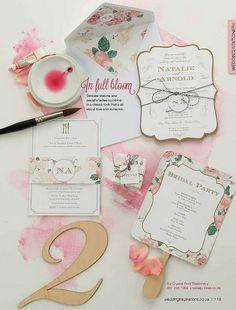 crystalprintOur stationery featured in the latest Wedding Inspirations Magazine.  http://weddinginspirations.co.za/  Photography : http://www.huismanphoto.co.za/