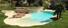 Plage immergée : pour créer une piscine unique ou atypique