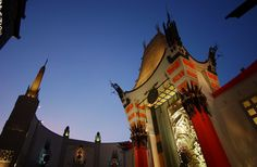Grauman's Chinese Theatre in Hollywood, where my friend Pam and I became film festival marathoners in high school. I remember bringing pillow and blanket for these feats of endurance. Hooray For Hollywood, In Hollywood, Movie Theater, Theatre, New Beverly Cinema, Indie Films, Hollywood Boulevard, Rocky Horror Picture, Hollywood California