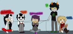 ((Mommy Homestuck, oh my goodness- And where did SnK come from?))