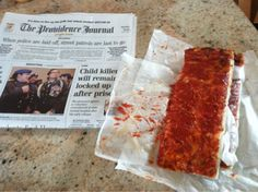 Pizza strips!  ....and ProJo, don't forget!