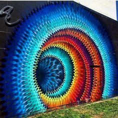 "The work of Hoxxoh in Washington DC for POW! WOW! <a class=""pintag searchlink"" data-query=""%23streetart"" data-type=""hashtag"" href=""/search/?q=%23streetart&rs=hashtag"" rel=""nofollow"" title=""#streetart search Pinterest"">#streetart</a> @hoxxoh @powwowworldwide ♥•♥•♥WOW♥•♥•♥"