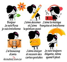 Printing Videos Education Children How To Learn French Watches French Teacher, Teaching French, French Body Parts, French Adjectives, Communication Orale, French Numbers, Core French, French General, French Classroom