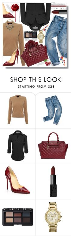"""""""STYLE!! because your personality isn't the first thing people see."""" by xwafflecakezx ❤ liked on Polyvore featuring Paul Smith, Michael Kors, Christian Louboutin and NARS Cosmetics"""