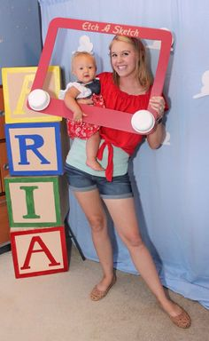 Toy Story Birthday Party Ideas + FREE Printables (Aria's First Bithday) - Brittany St.Dennis - Toy Story Birthday Party Ideas + FREE Printables (Aria's First Bithday) Aria's First Birthday: Toy Story Birthday Party Ideas + FREE Printables - Fête Toy Story, Toy Story Baby, Toy Story Theme, Toy Story Cakes, Toy Story Food, Disney Cars Birthday, Cars Birthday Parties, Birthday Ideas, Children Birthday Party Ideas