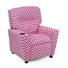 This adorable classic chair is the perfect present for your 3 to 7 year old child. The classic chevron pattern is youthful and fun, adding to any room decor. This is a gift to be cherished and used daily for playing, reading and resting. Your little one will love it! Healthy Eating Made Easy and... more details available at https://furniture.bestselleroutlets.com/children-furniture/chairs-seats/recliners/product-review-for-girls-pink-chevron-recliner-chair-with-cupholder-chil