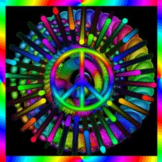 color active peace spin
