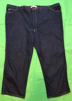 Men's Lee Regular Fit Denim Blue Jeans Big Men's Size 60 X 30  #Lee #ClassicStraightLeg