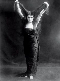 """The reason good women like me and flock to my pictures is that there is a little bit of vampire instinct in every woman."" Theda Bara"