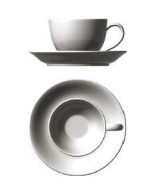'Aroma' short tea cup; Tazza tè bassa, aroma