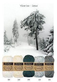 Kleurenpallet Catona - Color Yourlife - Winter Love HobbyVision- (web)winkel voor scrappen, kaarten en meer!