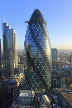 The Gherkin - a fantastic building