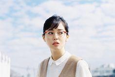 青柳文子がイメージキャラクターを務める、レトロで春らしい「Zoff」の新シリーズが登場 | NEWS | HARAJUKU KAWAii!! STYLE