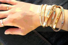 Bracelet multirang miyuki