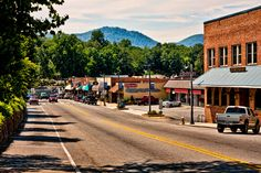 "Where I call home.  All 1500 of us.  You know the saying, ""it takes a village....""? It really does.  I love making my home in Polk County, North Carolina.  Home of Morris the Horse, The Blue Ridge Barbecue Festival, Super Saturday and Steeplechase."