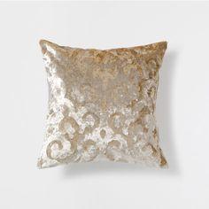 BEIGE VELVET CUSHION - Decorative Pillows - Bedroom   Zara Home United States