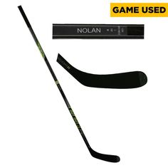 Jordan Nolan Los Angeles Kings Fanatics Authentic Game-Used Black CCM Hockey Stick from the 2016-17 NHL Season