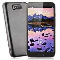 CAESAR A9800 Smart Phone MTK6589 Quad Core 5.7 Inch IPS HD Screen Android 4.1 1G RAM 5.0MP Front Camera- Grey  $236.99