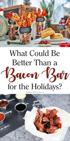 I believe that everything is better with bacon. If you believe this too then I have the perfect post for you because it's all about making and serving bacon! You'll get delicious recipes and ideas plus an exciting giveaway for the ultimate bacon lover's prize: a year of free bacon (ARV $416)! What Could Be Better Than a SmithfieldBaconBar? AD