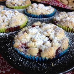 Greenway36: Himbeer-Pudding-Streusel-Muffins