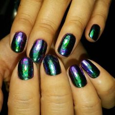 Chameleon Nail Sequins Nail Art Manicure Decorations