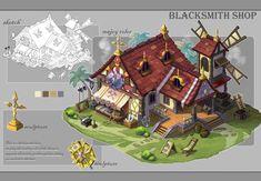 ArtStation - game sence design, Li Jason