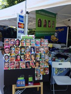 Face painting board on pinterest face paintings display for Face painting rates