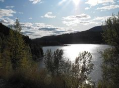 North Pend Oreille Valley Lions Club train in Ione, WA   This river is where my happiest memories took place