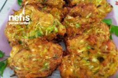 Kabak Mücveri Tarifi Turkish Recipes, Italian Recipes, Ethnic Recipes, Fish And Meat, Fish And Seafood, Turkey Today, Turkish Sweets, Turkish Kitchen, Fresh Fruits And Vegetables