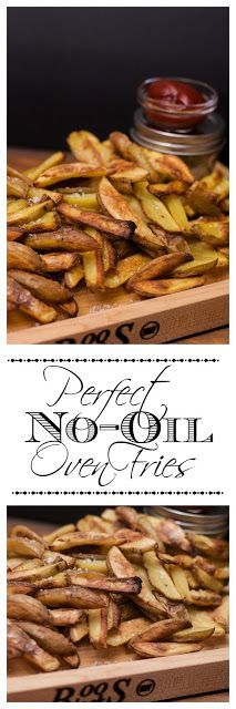 Perfect no-oil oven fries