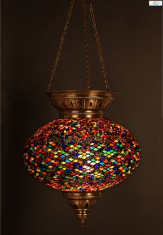 For the Moroccan room -  15 inch EXTRA Large Turkish Moroccan Hanging by IstanblueDesign