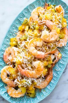 Sautéed Shrimp with Tropical Salsa