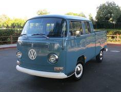 1968 Voklswagen Bay Window Double-Cab