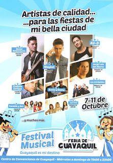 Del 7 al 11 de octubre. Feria de Guayaquil