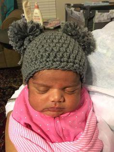 Crochet beany for Umrah