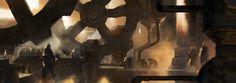 ArtStation - Oil press, SIXMOREVODKA STUDIO