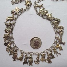 eCharmony Charm Bracelet Collection - Tiny Austrian Charms Characters & Animals