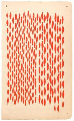 Margaret Kilgallen Untitled, c. 2000 Acrylic on paper 7 x 4 inches Surface Design, Surface Pattern, Pattern Art, Pattern Design, Graphic Patterns, Textile Patterns, Textile Design, Robert Rauschenberg, Joan Mitchell