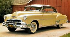 1952 Chevrolet cars...Brought to you by Agents of #CarInsurance at #HouseofinsuranceEugene