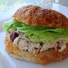 Chicken Salad Sandwiches | The Girl Who Ate Everything