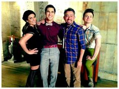BTS of Glee