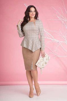 Коллекция одежды для полных девушек и женщин белорусской компании Liliana осень 2018