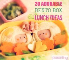Change up your kid's everyday lunch with these fun, healthy bento lunch box ideas! #LunchIdeas #BackToSchool