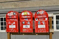 Boîtes aux lettres - Copenhague - Danemark - ©Fabienne