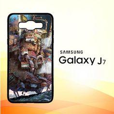 Howl'S Moving Castle Z0087 Samsung Galaxy J7 Edition 2016 SM-J710 Case
