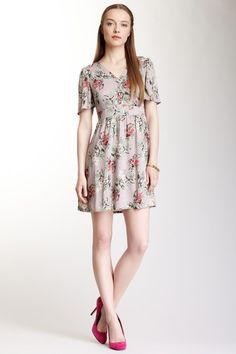 Floral Print Dress by Tulle on @HauteLook