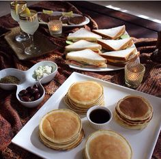 Cute Food, Good Food, Yummy Food, Tumblr Food, Mouth Watering Food, Getting Hungry, Breakfast Cake, Perfect Food, Aesthetic Food