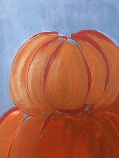 Easy canvas painting for beginners step by step. Learn how to paint a pumpkin topiary painting on canvas! Paint this and more fall canvas paintings! Pumpkin Topiary, A Pumpkin, Pumpkin Canvas Painting, Step By Step Painting, Learn To Paint, Fall Halloween, Halloween Decorations, Fall Decor, Healthy Meals